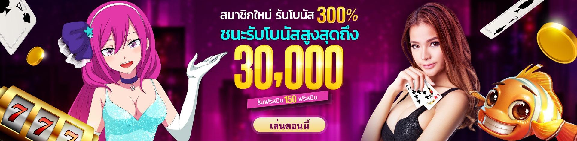 LuckyNiki แจกโบนัสฟรี 300%